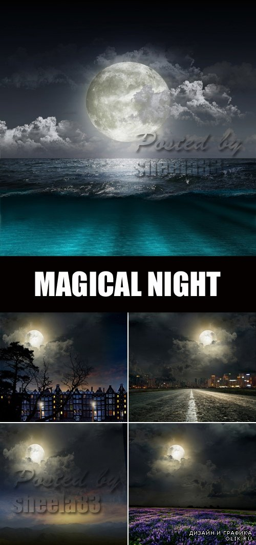 Stock Photo - Magical Night