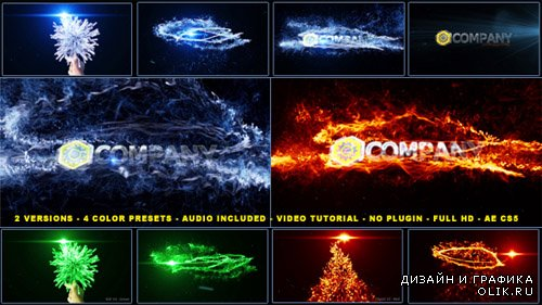 Magical Particles Vortex Logo Reveal - Project for AFEFS (Videohive)