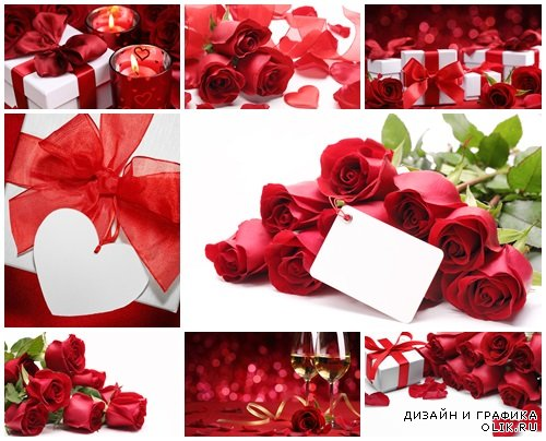 Valentines day celebration - stock photo