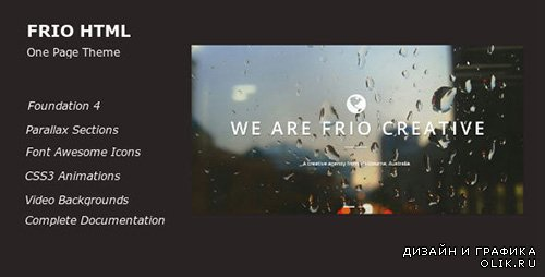 TF - Frio One Page Parallax Responsive Template - RIP