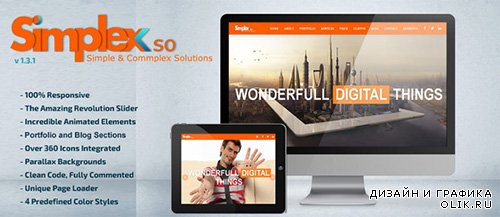 TF - Simplex - Responsive Onepage Html5 Template - RIP