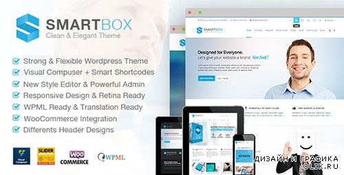 TF - SMARTBOX v1.3 - Clean & Elegant Multi-Purpose WP Theme