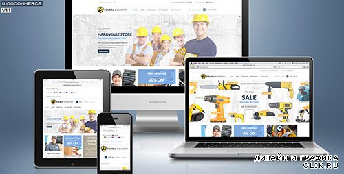 TF - 456Industry v1.1.1 - eCommerce Wordpress Theme