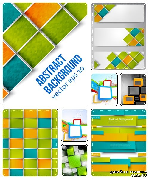 Abstract background, part 24  - vector stock