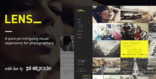 TF - LENS v1.6.0 - An Enjoyable Photography WordPress Theme
