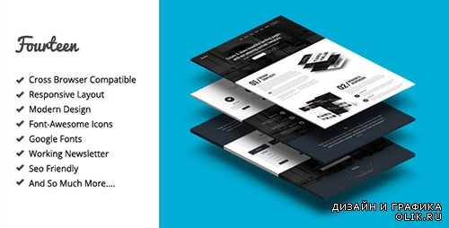 TF - Fourteen - Responsive Landing Page Template - RIP