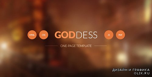 TF - Goddess One Page Template - RIP