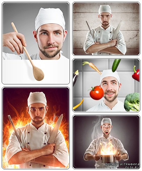 Extremal cook - Stock Photo
