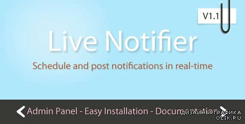 CC - Live Notifier with Scheduler v1.1