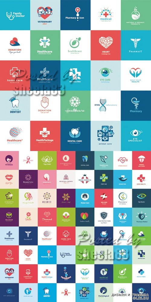 Medical & Healthcare Icons Vector