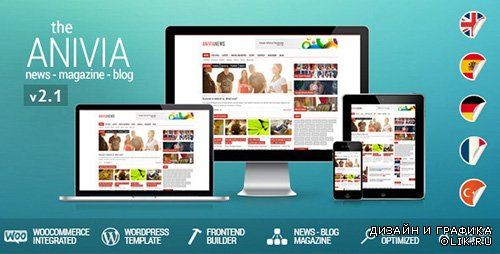 TF - Anivia v2.1 - News, Magazine, Blog Wordpress Templates