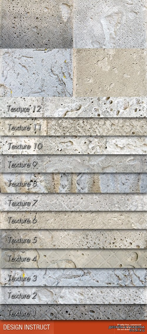 Photo Stock - Rough Concrete Tiles