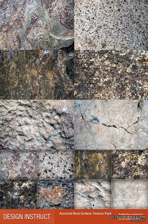 Photo Stock - Assorted Rock Surface