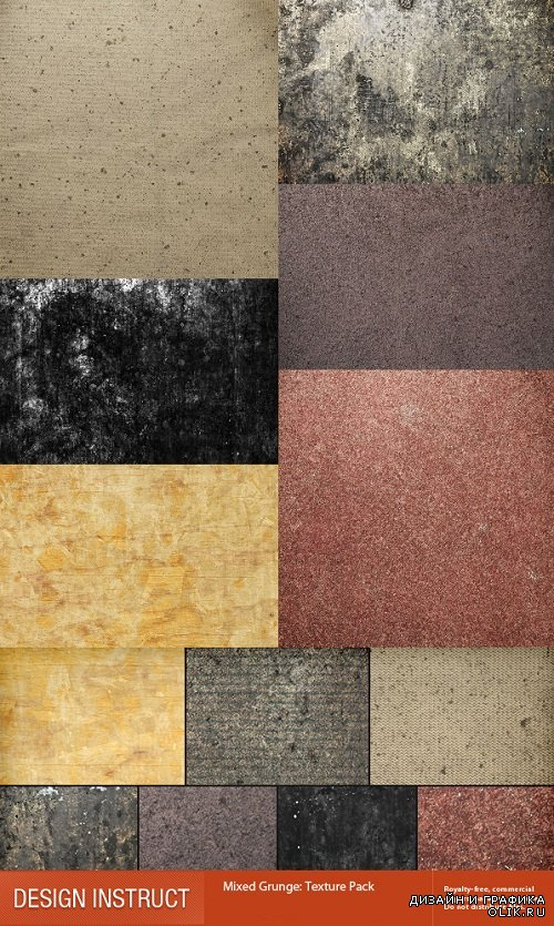 Photo Stock - Mixed Grunge Texture Pack