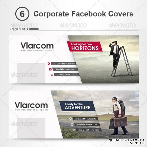 GraphicRiver - Corporate Facebook Timeline Covers - 7221360