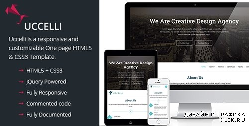 t - Uccelli | One Page Responsive HTML & CSS Template - RIP