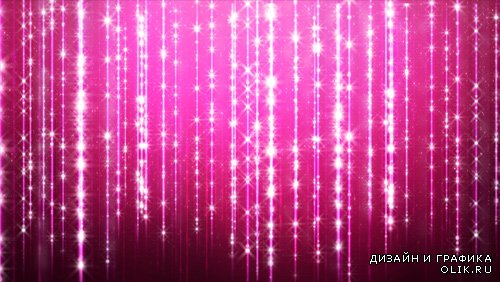 Футаж  Sparkling Curtain HD