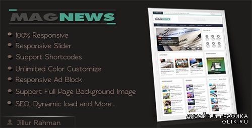 t - MagNews v1.1 - Responsive Blogger Template