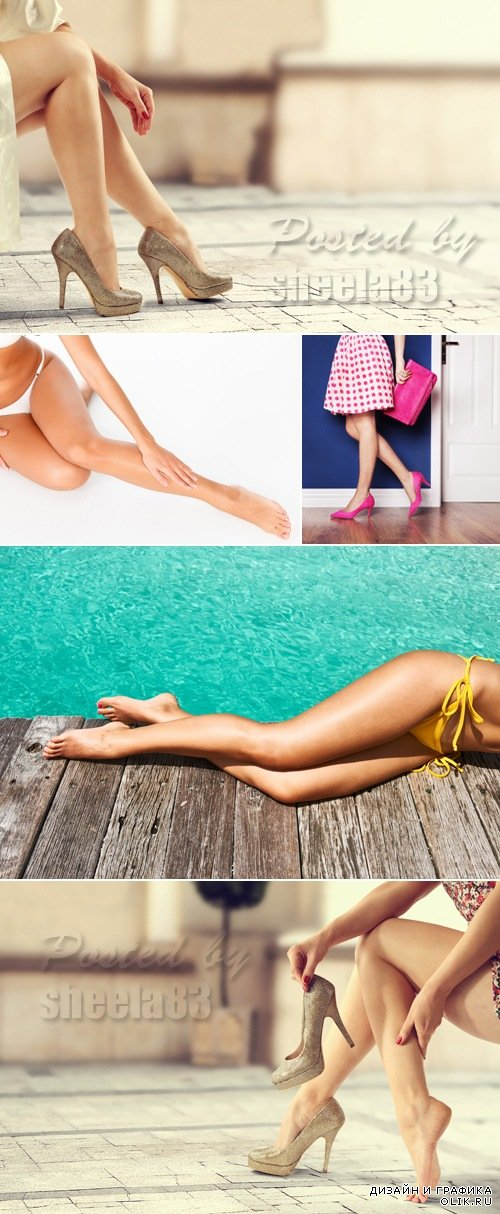 Stock Photo - Female Legs