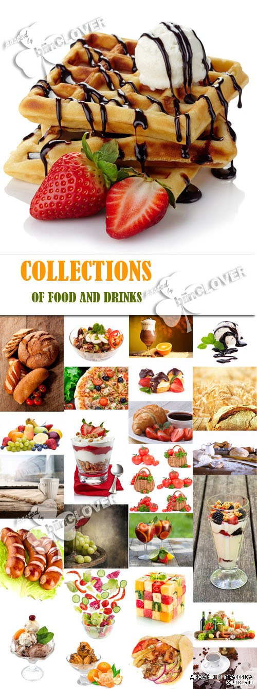 Collections of food and drinks 0581
