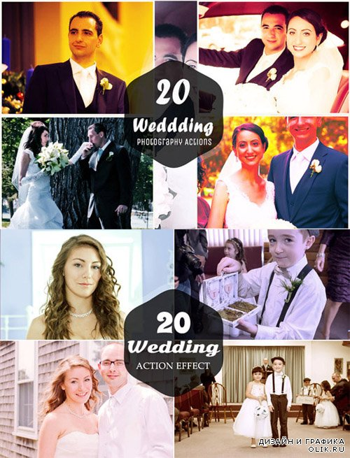 40 Wedding PHSP Actions