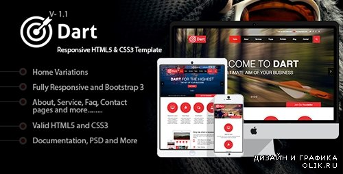 t - Dart - Responsive HTML5 Business Template - RIP