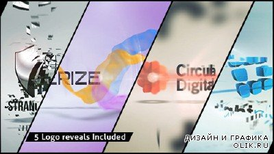 Corporate Logo XV Clean Effects - Project for After Effects (Videohive)