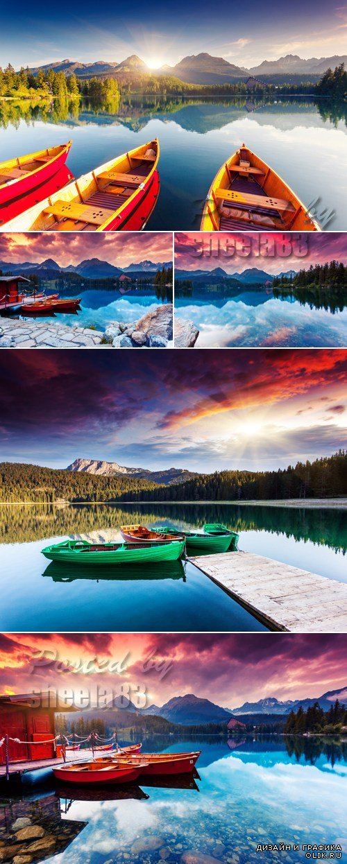Stock Photo - Mountain Lake