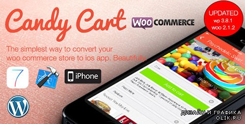 CC - Candy Cart v2.0 - Woocommerce For Native iOS App