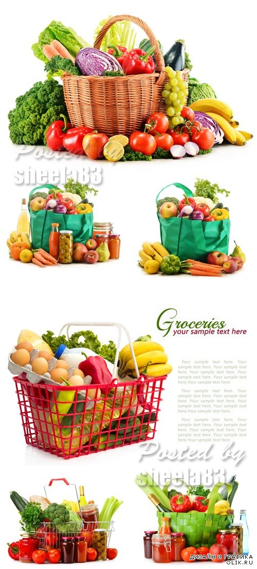 Stock Photo - Grocery Products