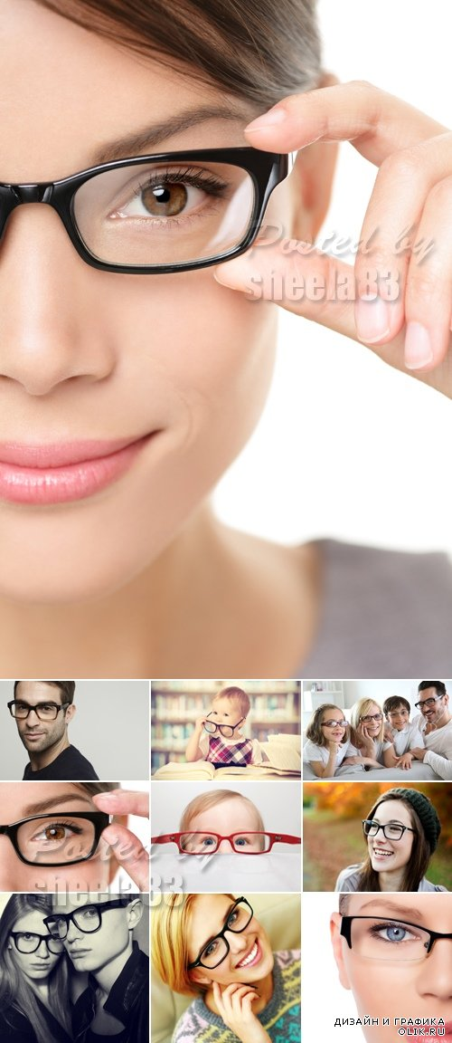 Stock Photo - People with Glasses