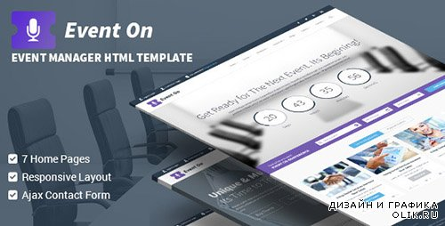 t - Event On - Responsive HTML Template - RIP