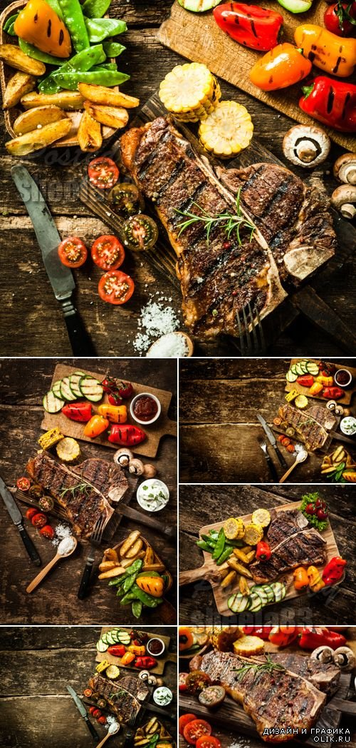 Stock Photo - Grilled Steak