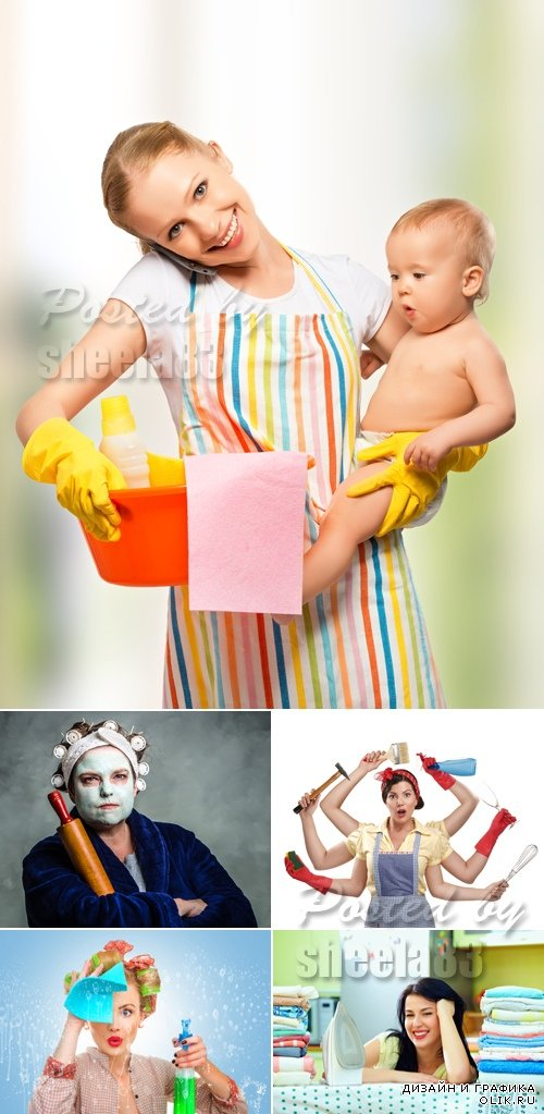 Stock Photo - Housewife
