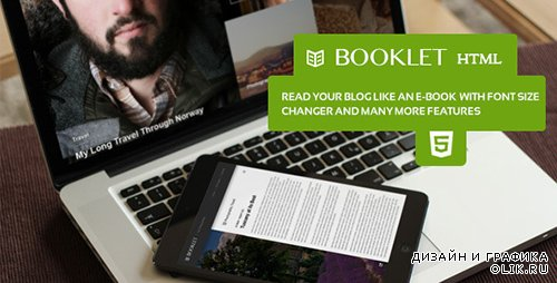 t - Booklet - Personal Blogging Html Theme - RIP
