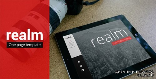 t - Realm v1.3 - Unique One Page Parallax Responsive HTML5 - FULL