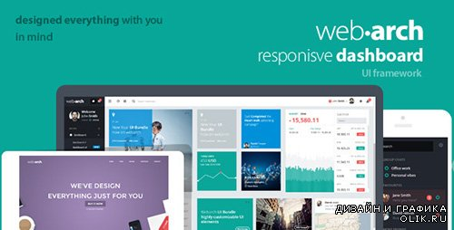 t - Webarch v2.5 - Responsive Admin Dashboard Template - FULL