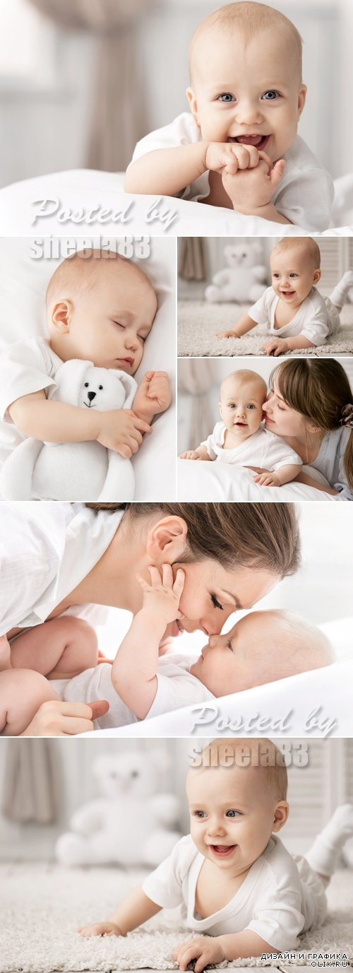 Stock Photo - Cute Little Baby