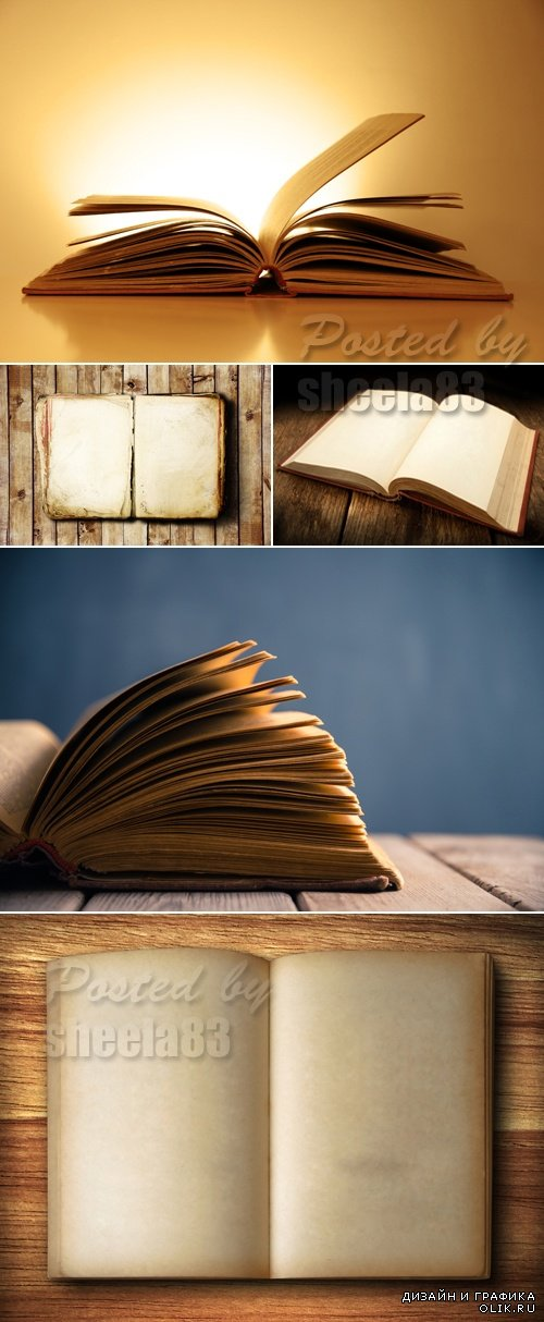 Stock Photo - Old Book