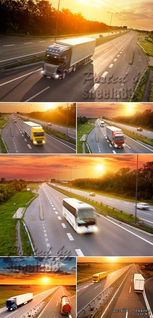 Stock Photo - Trucks & Buses