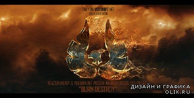 Burn Destroy - Project for After Effects (Videohive)
