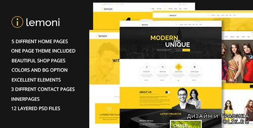 t - Lemoni v1.0 - Multipurpose HTML5 Template - FULL