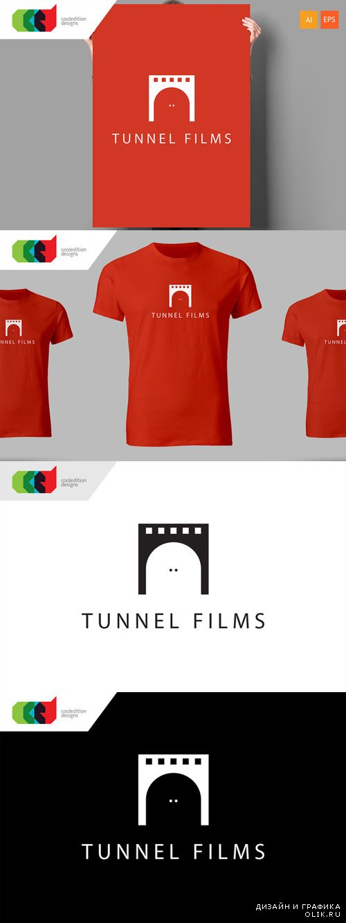 Tunnel Films - Logo Template