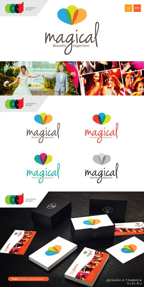 Magical - Logo plus Business Card