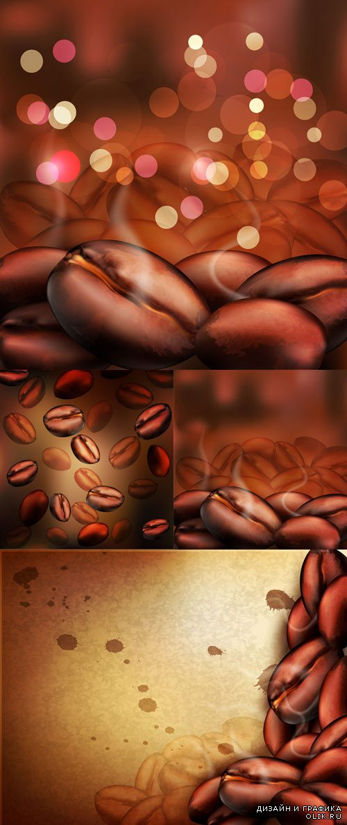Tasty coffee backgrounds