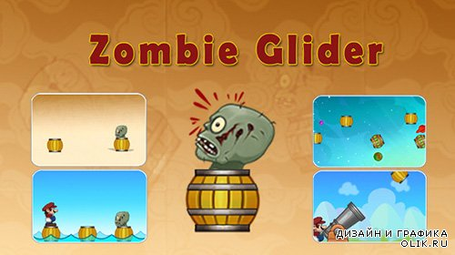 CC - Zombie Glider Game With AdMob