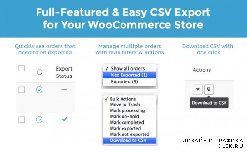 WooThemes - WooCommerce Order/Customer CSV Export v3.5.0