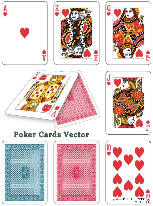 Poker Vector Cards Games