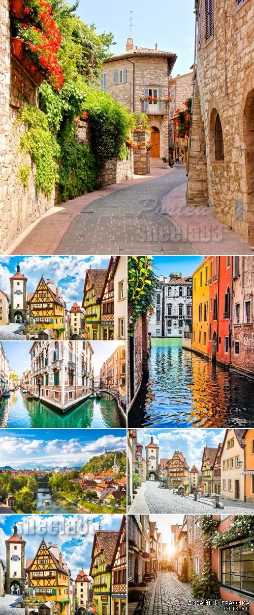 Stock Photo - European Cities Streets 2