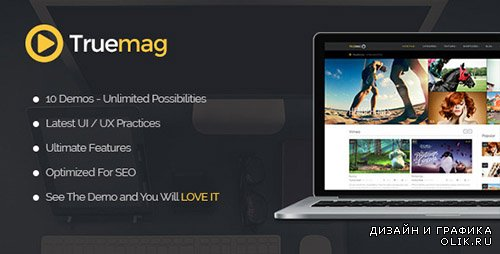 t - True Mag v2.14.3 - Wordpress Theme for Video and Magazine